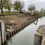 Na Baťově kanále se staví nové přístaviště