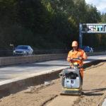 Na modernizovaném úseku dálnice D1 Koberovice – Humpolec se opět pracuje