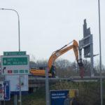 Rekonstrukce mostu přes Chlumeckou ulici na Pražském okruhu komplikuje dopravu