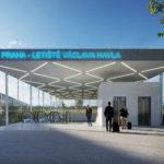 Správa železnic hledá zhotovitele dokumentace pro stavební povolení nového nádraží Praha-Letiště Václava Havla