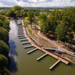 Modernizovaný přístav ve Veselí nad Moravou nabízí nové servisní centrum pro lodě