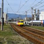Pokračují práce na rekonstrukci tramvajové trati mezi Mostem a Litvínovem