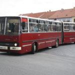 Maďarský kloubový autobus Ikarus 280 slaví 50 let od zahájení výroby