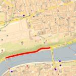 Oprava nábřeží Edvarda Beneše komplikuje dopravu v centru Prahy