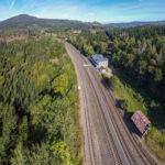 Rekonstruované nádraží v Jedlové nabízí ubytování