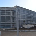 VKralupech nad Vltavou se staví parkovací dům a autobusový terminál