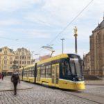 V Plzni se testuje nová tramvaj Škoda ForCity Smart