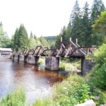 Hradlový most přes řeku Vydru bude uzavřený