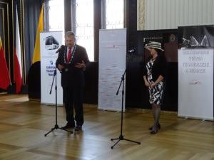 Ing.Jiří Nouza a Ing.Miloslava Veselá