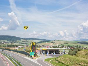 čerpací stanice Slovnaft