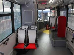 Batterybus Škoda 26BB HE- interier