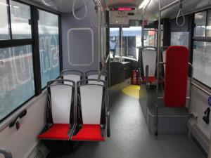Batterybus Škoda 26BB HE- interier