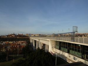 Nuselský most - pohled směrem do centra